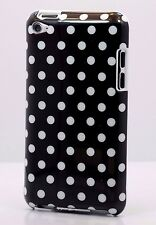 for iPod touch 4th 4g itouch cute case cover polka dots red pink white black