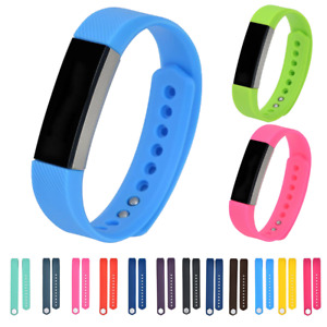For Fitbit Alta HR, ACE Strap Replacement Stud Buckle Silicone Sport Watch band
