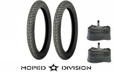 MICHELIN CITY PRO 17 X 2.25 MOPED TIRES W/ TUBES Package Puch Motobecane Peugeot