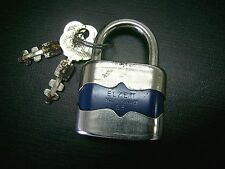 "Vintage Old Padlock Lock Hungary ""Elzett"" / Collectible Rare / 1970'S"
