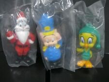 "Looney Tunes   ""Complete Holiday Figure Set""    NIP Arby's 1989"