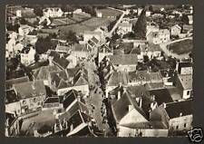 AUZANCES (23) CENTRE VILLE & ROUTE de MONTLUCON en 1958