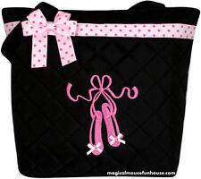 Girls Dance Tote Bag Ballet Slippers