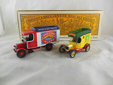 Corgi C69 Bryant & May's Thornycroft & Ford Model T Delivery Van Transport 30's