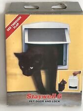 Nos Vintage Staywell 6 Pet Door England Cat Door (Light Box Wear)