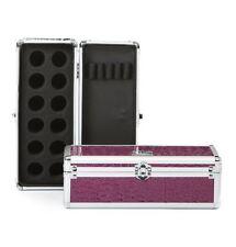 Urbanity nail art glitter pot polish beauty manicure tool case box bag purple