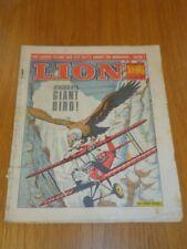 LION 9TH OCTOBER 1965 BRITISH WEEKLY COMIC FLEETWAY^