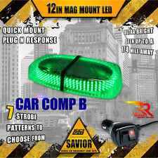 240 LED Light Bar Roof Top Warning Emergency Strobe Rapid Switch Truck - GREEN