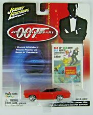 Johnny Lightning James Bond 007 40th Anniversary MERCURY COUGAR CONVERTIBLE RARE