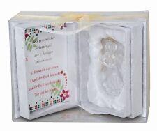 Schutzengel Engel Glas Geschenkset Geschenk zur Kommunion 1. heilige Kommunion