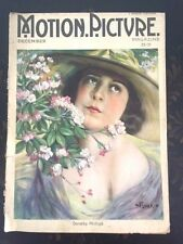 Motion Picture Magazine December 1921 Movie Star Dorothy Phillips On Cover