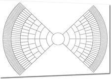 A2 Bow Tie Family Tree Chart (Family History / Genealogy Chart)