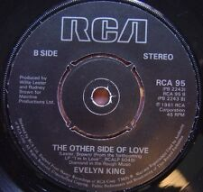 EVELYN KING the other side of love / I´m in love UK 45 RCA 1981ºDISCOº