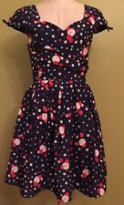 M New Designer Label Retro Inspired Mod Dress Fit and Flare Rockabilly NWOT !!