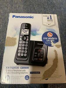 Panasonic - KXTGD530M DECT 6.0 Expandable Cordless Phone System with Digital ...