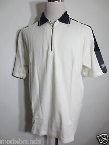 Polohemd Poloshirt KILLTEC sports RV Polo L XL kurzarm weiß dunkelblau  /I3