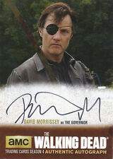 Walking Dead Season 4 Part 1 Autograph Auto David Morrissey Governor DM1