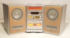 PHILIPS MC-129/37 EXECUTIVE MICRO SYSTEM AM/FM CD STEREO RADIO