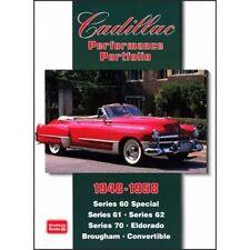 Cadillac Performance Portfolio 1948-1958 book paper