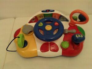 Voiture sonore et musicale pour enfants de 0 à 3 ans excellent état