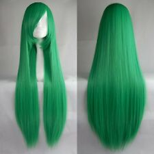 "Women Fashion 100CM/39"" Long straight Cosplay Fashion Wig heat resistant Fiber"