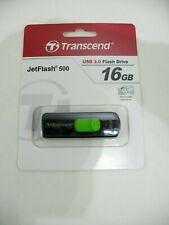 Transcend JetFlash 500 USB 2.0 Flash Drive 16 GB