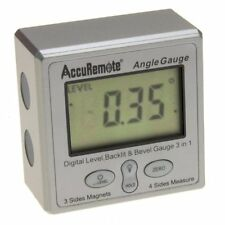 Digital Angle Cube w/BACK LIGHT Gage Electronic Gauge Protractor Magnetic Base