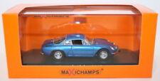 Voitures, camions et fourgons miniatures bleus Alpine 1:43