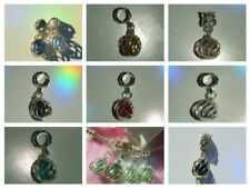 Glass Mixed Metals Charms & Charm Bracelets