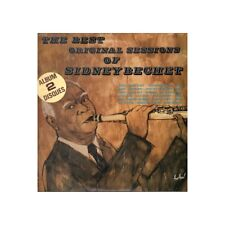 Sidney Bechet ‎‎‎Lp Vinile The Best Original Sessions Of Disques Festival Nuovo