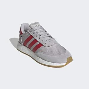 Adidas Originals Men's I-5923 Sneakers, Grey/Scarlet/Gum