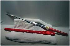 HANDMADE JAPANcESE SAMURAI SWORD KATANA BURNING STEEL T10 SHARP BLADE #119