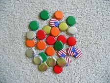 100 Crown Bottle Caps for Beer Soda New Unused Uncrimped