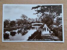 VINTAGE POSTCARD - ISAAK WALTON WALK - STAFFORD  RP