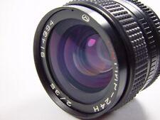 Exc++ ! Full frame lens MC MIR 24 N f/2 35 mm Nikon factory bayonet. s/n 914394