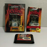 Devilish (Sega Genesis, 1992) COMPLETE! TESTED & CLEANED!