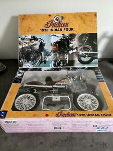 Indian Four 1938 Vintage 1:6 Motorcycle Kit New Ray Classic