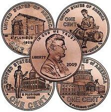 Lincoln 2009 Cent - Complete Set - Penny P&D Mint, 8 Coins, BU.