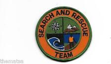 SEARCH AND RESCUE TEAM EMBROIDERED PATCH