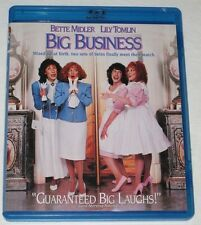 Big Business (Blu-ray Disc, 2011) Used (Region A) Bette Midler, Lily Tomlin