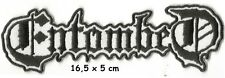 Entombed - logo patch - FREE SHIPPING