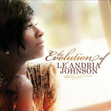 FREE US SHIP. on ANY 2 CDs! ~Used,VeryGood CD Johnson, Le'Andria: Evolution of L