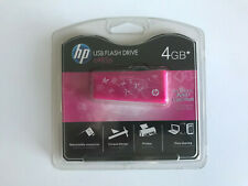 HP USB Flash Drive c485p - 4GB - Pink - New and Sealed