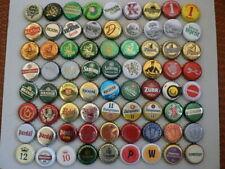 CZECH lot 72 beer , soda bottle caps ,   kronkorken   crown caps  (4)