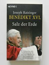 Joseph Ratzinger Benedikt XVI Salz der Erde Heyne