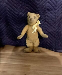 Antique teddy bear - believed to be 1930s, sparse fur