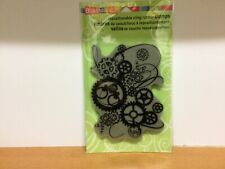 Stampendous Rubber Stamp - 'Clock Works'