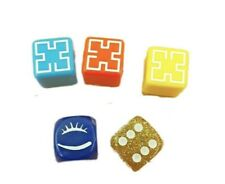 Pictionary Board Game Replacement Spare Dice X 5