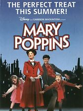 """Mary Poppins 16"""" x 12"""" Reproduction Poster Photograph"""