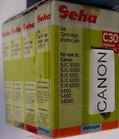 (PRL) LOTTO CARTUCCE INCHIOSTRO 4 COLORI COMPATIBILE PER CANON INK CARTRIDGE LOT